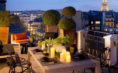 Ambiance sonore de l'Hotel Marignan Champs Elysées
