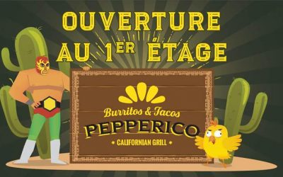 Création ambiance sonore :  Burritos & Tacos PEPPERICO