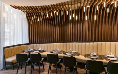 Design sonore restaurant Odette